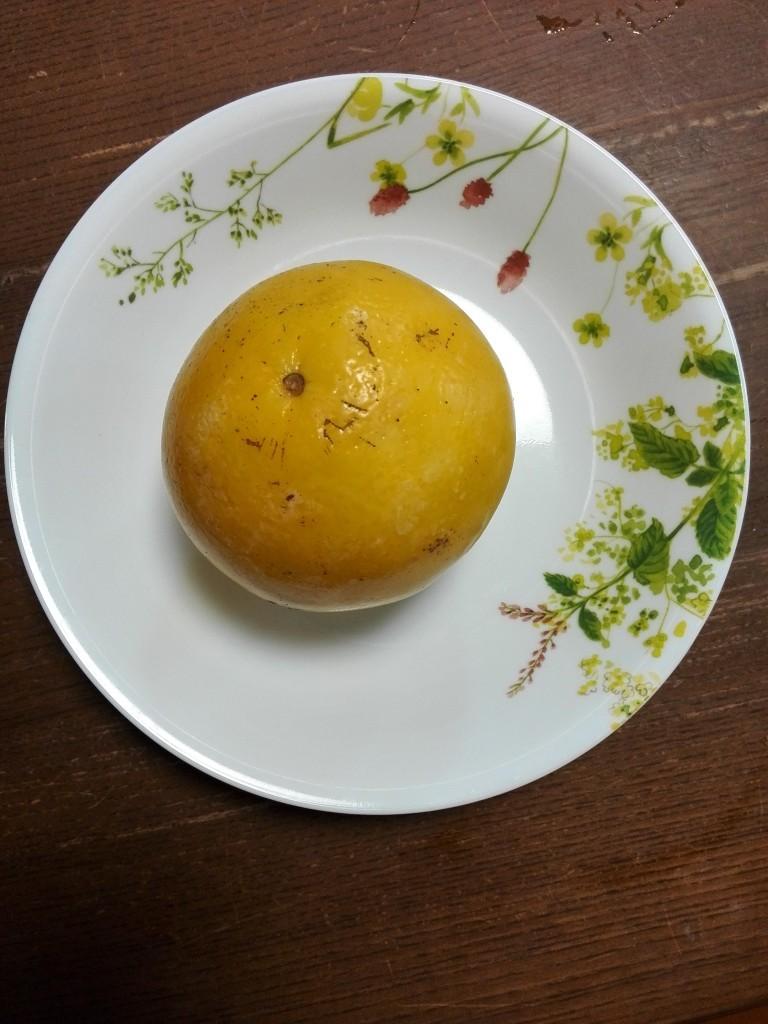 ゆでたグレープフルーツ