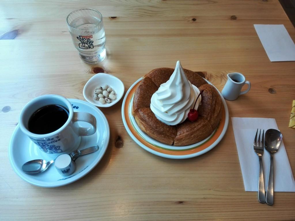 コメダ珈琲 コーヒーとシロノワール