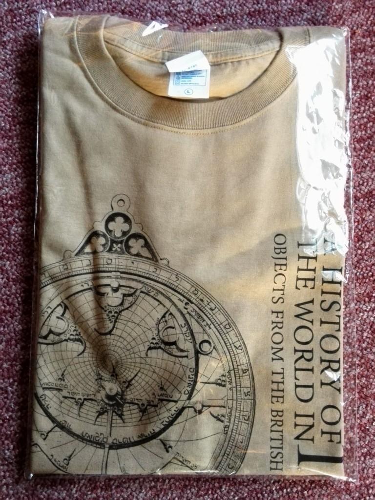 東京都美術館 大英博物館展 お土産Tシャツ