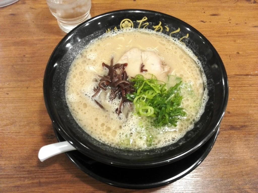 博多豚骨たかくらの重厚豚骨三番釜スープ
