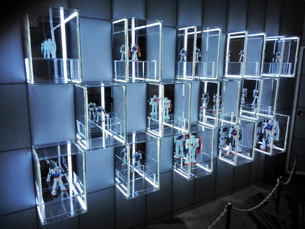 2015年バンダイナムコホールディングス株主総会 ガンプラ35周年記念展示