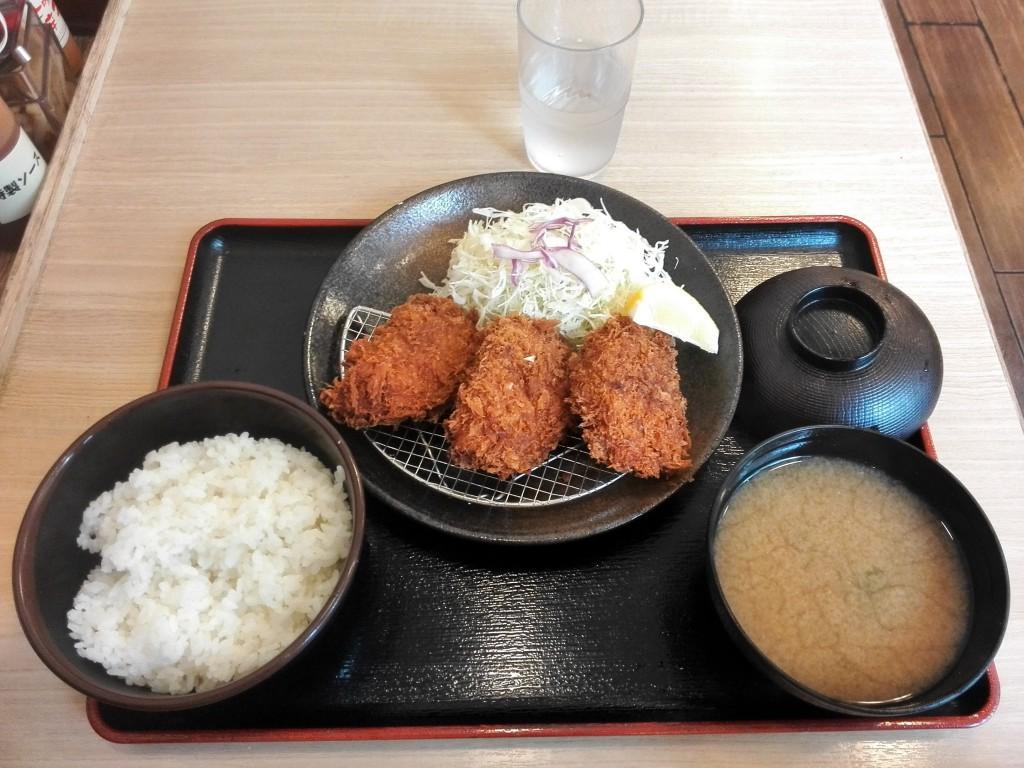 松屋フーズ 松乃家 ヒレかつ定食