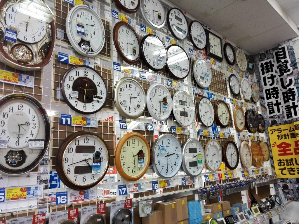 コジマ×ビックカメラ 時計コーナー