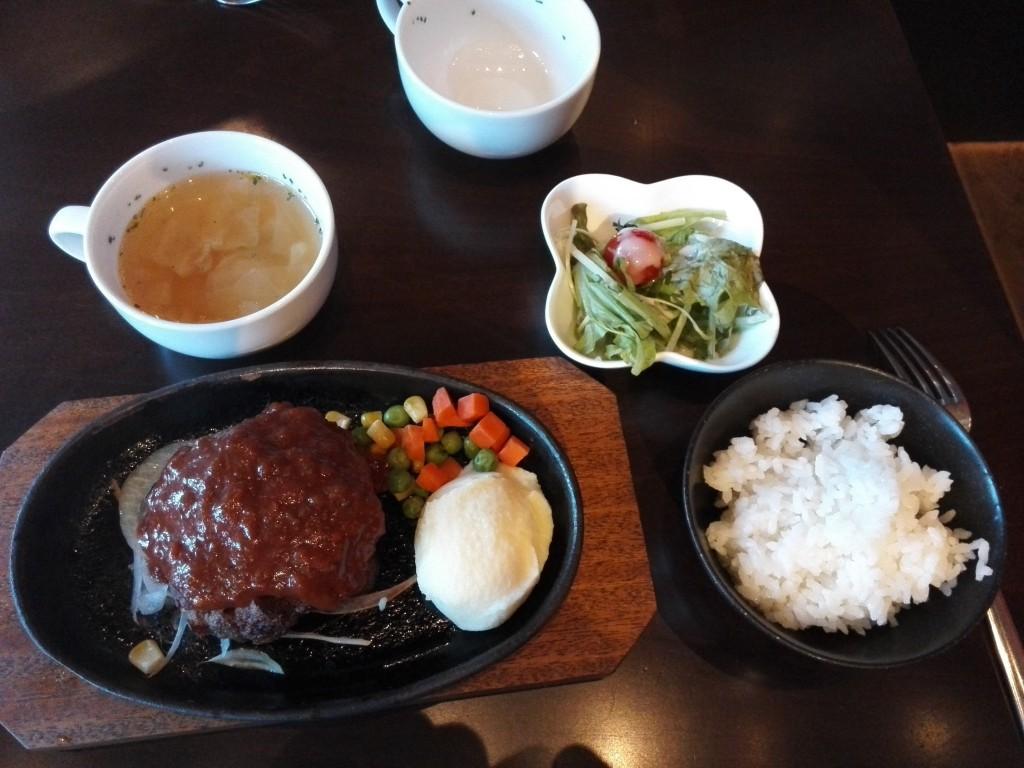 肉バルモダンミール 大津店 近江牛ハンバーグ