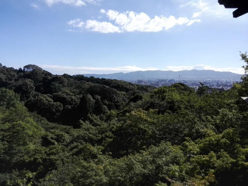清水寺 舞台からの景色