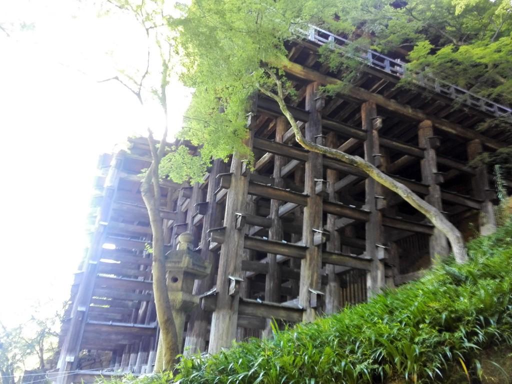 清水寺 舞台の木組み