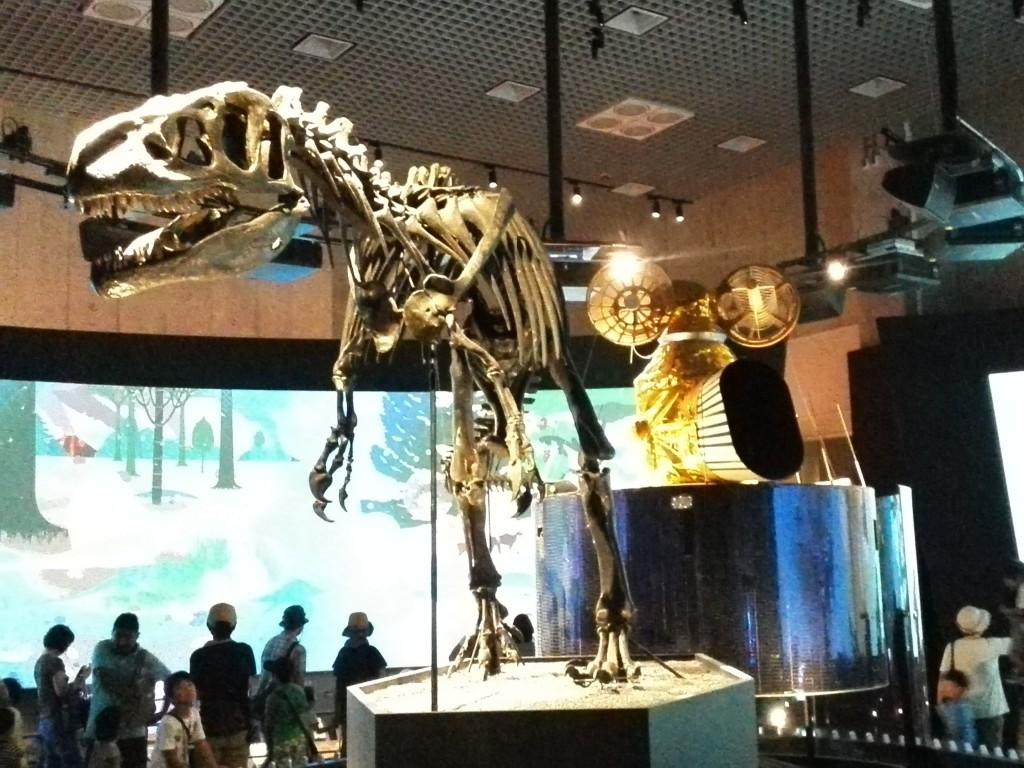 国立科学博物館 地球館 1F 地球史ナビゲーター