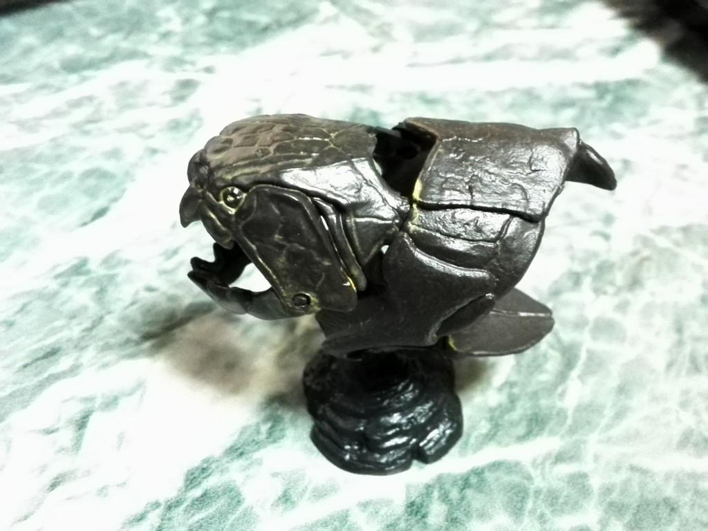 国立科学博物館 生命大躍進展 フィギュア ダンクルオステウス(頭骨)