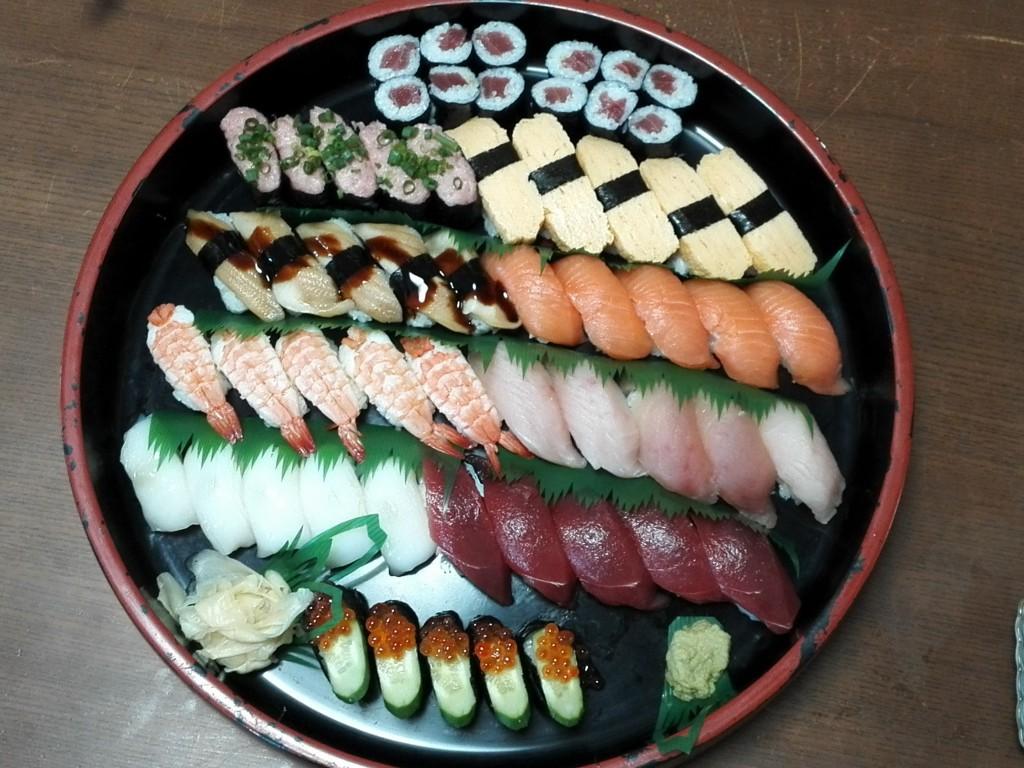 宅配寿司 銀のさら 加賀