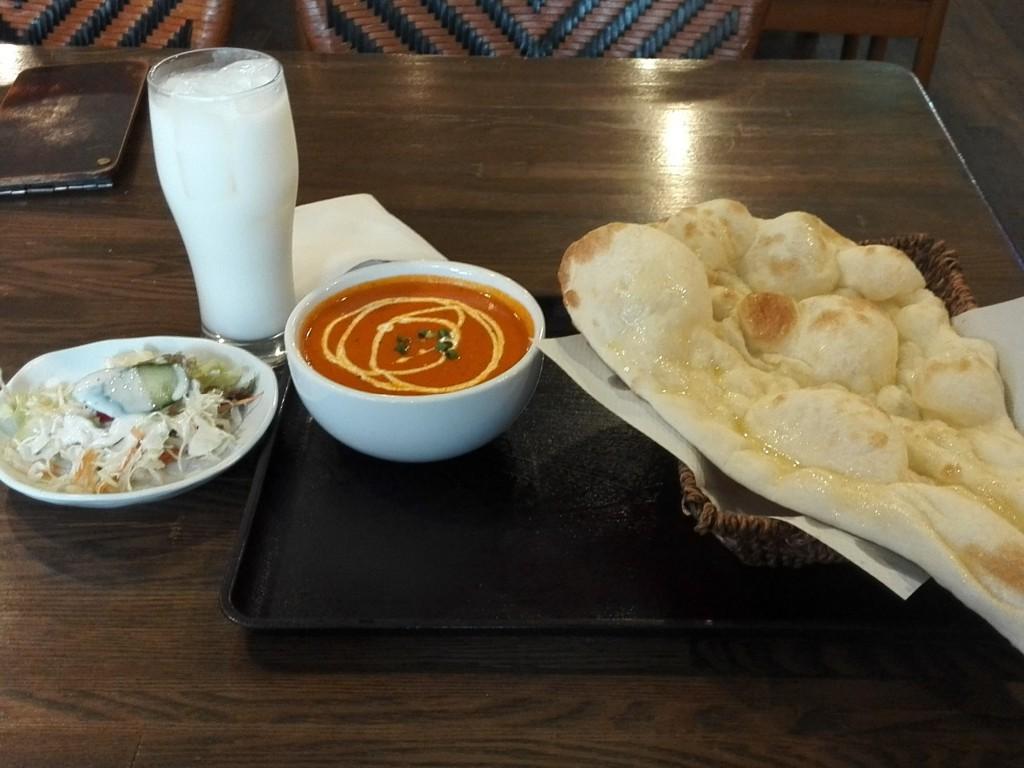 ネパール・インド料理レストラン ミルミレ 池袋店 チキンカレーセット