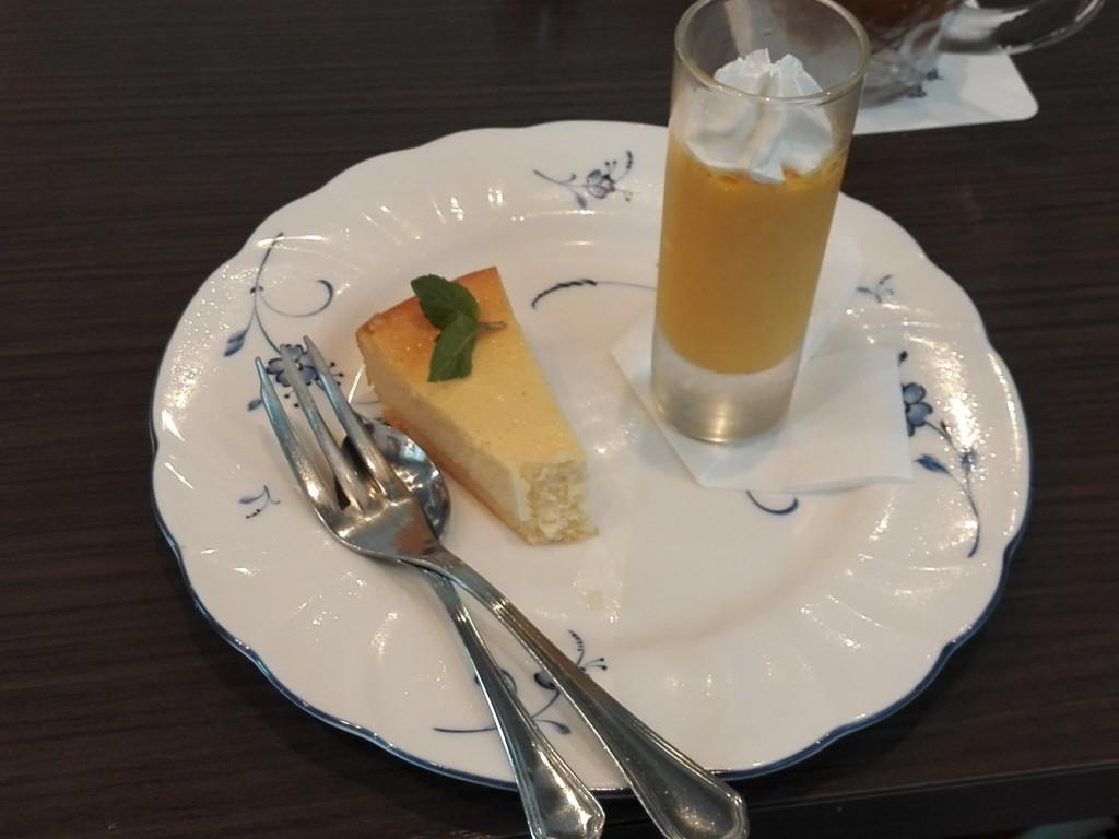 オランダ坂珈琲邸 セットのデザート