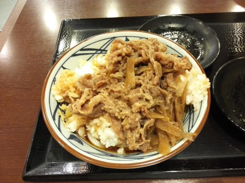 丸亀製麺 鬼おろし肉ぶっかけうどん