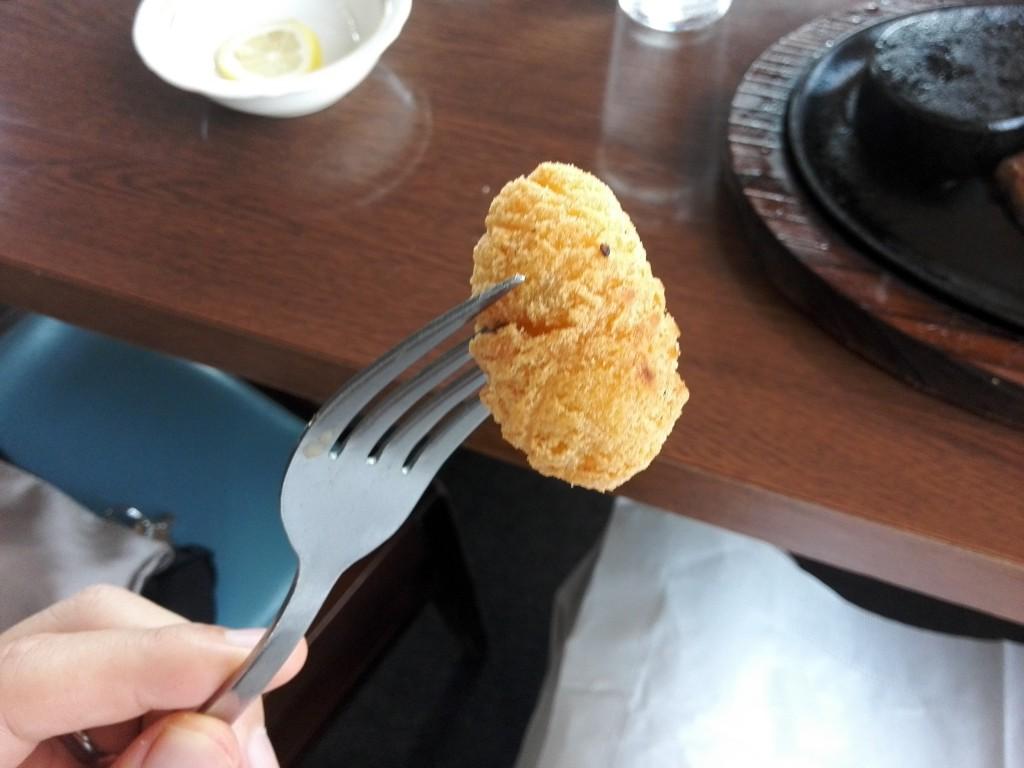 ステーキのあさくま ポテト?