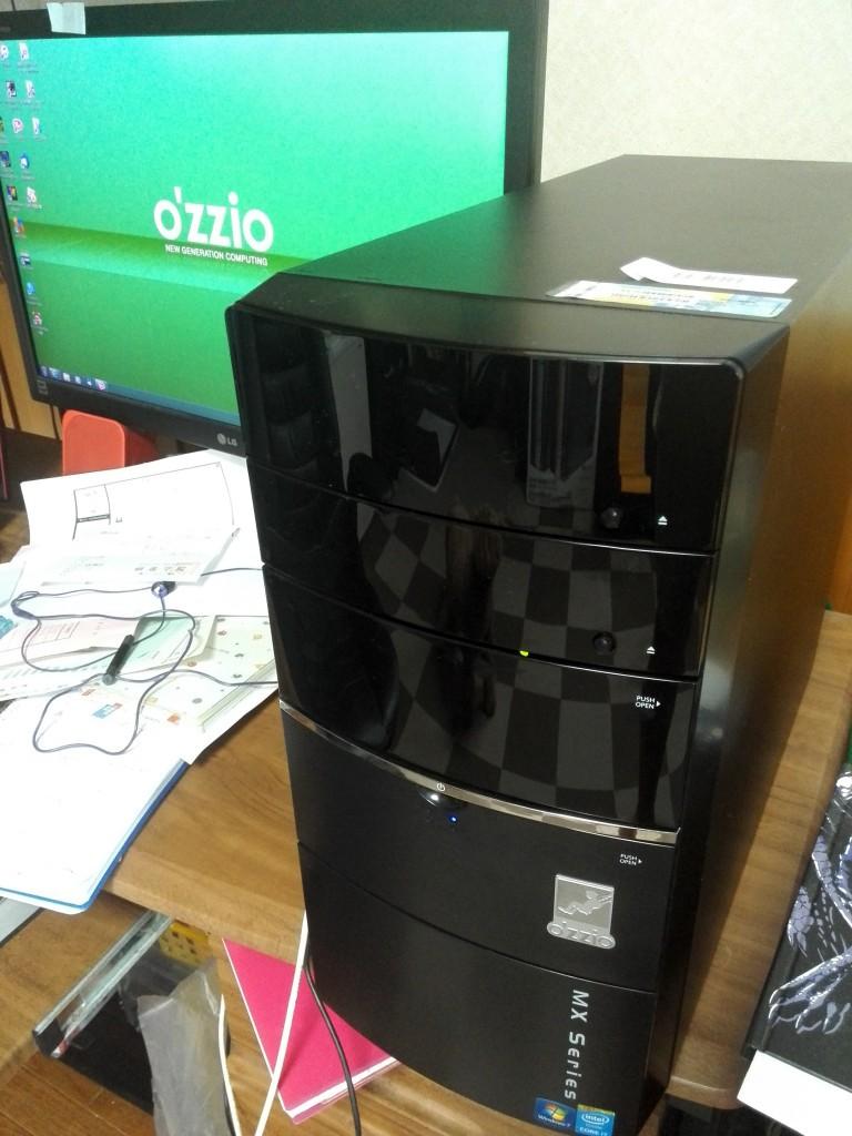 PCデポ PBパソコン O'ZZIO MXA274710SDGS3