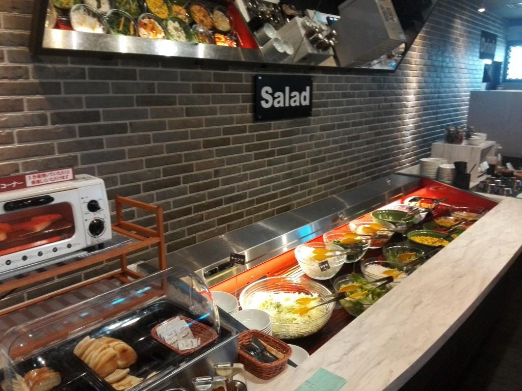 ステーキのあさくま 川越店 サラダバー
