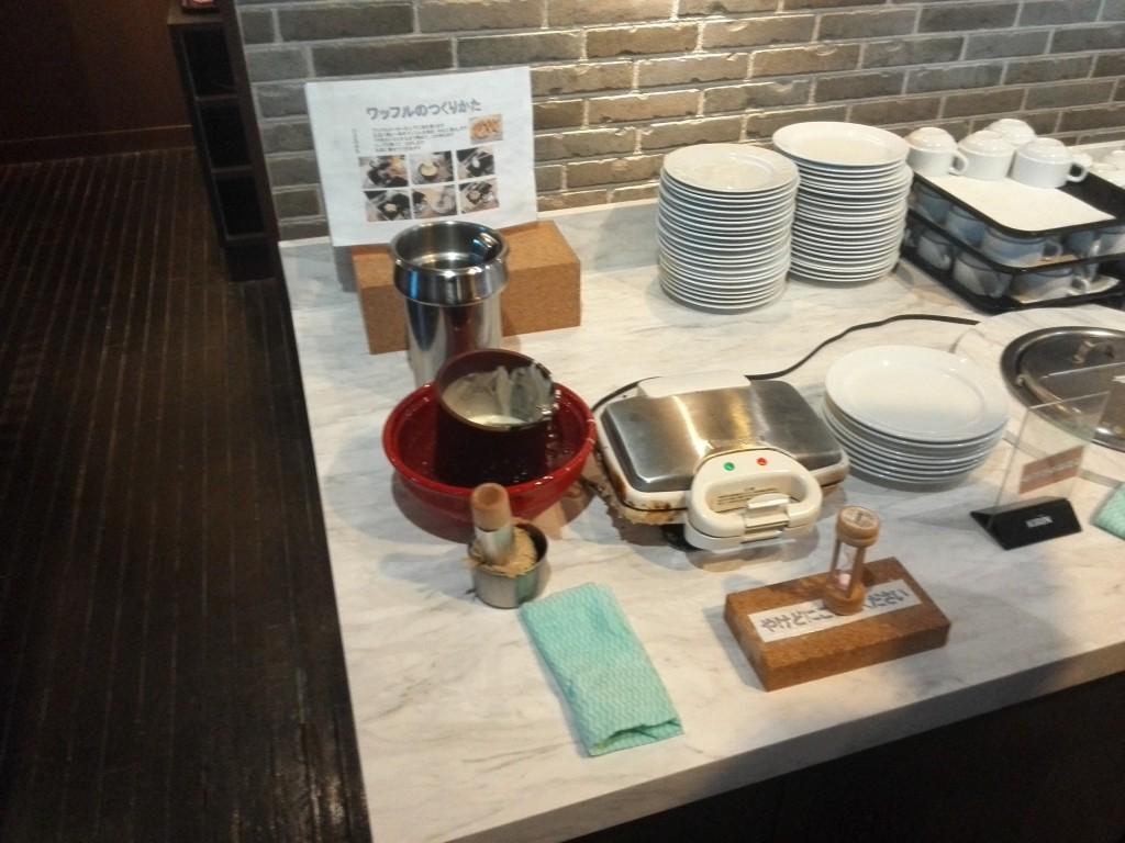 ステーキのあさくま 川越店 ワッフルメーカー