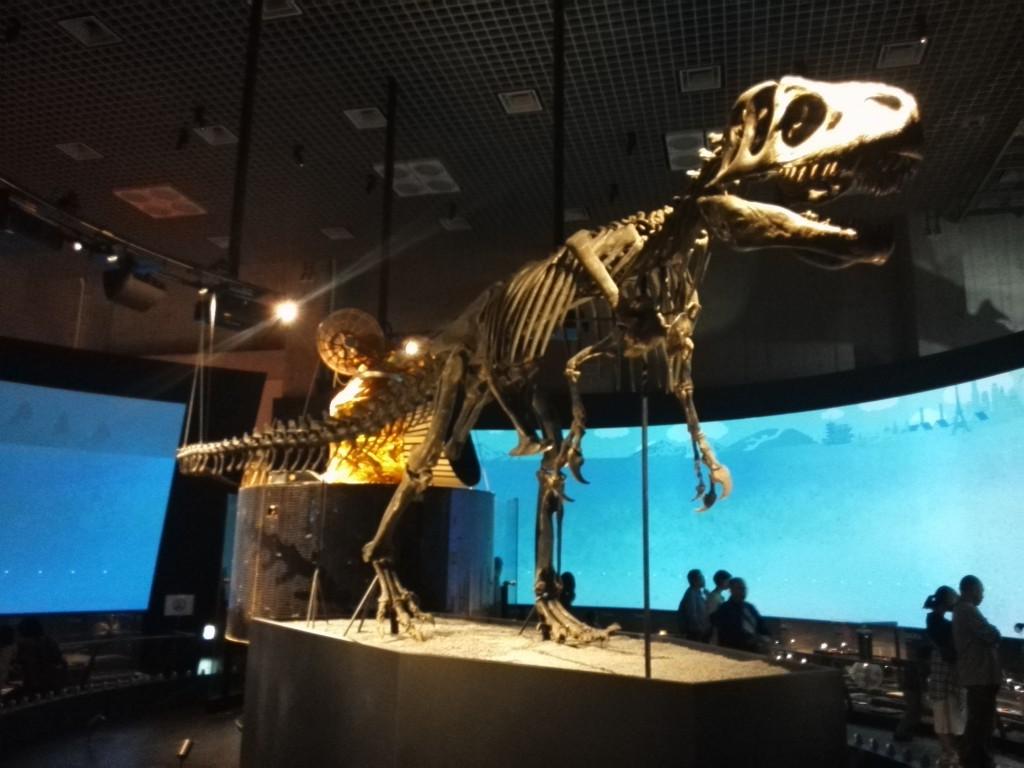 国立科学博物館 地球館1階 地球史ナビゲーター