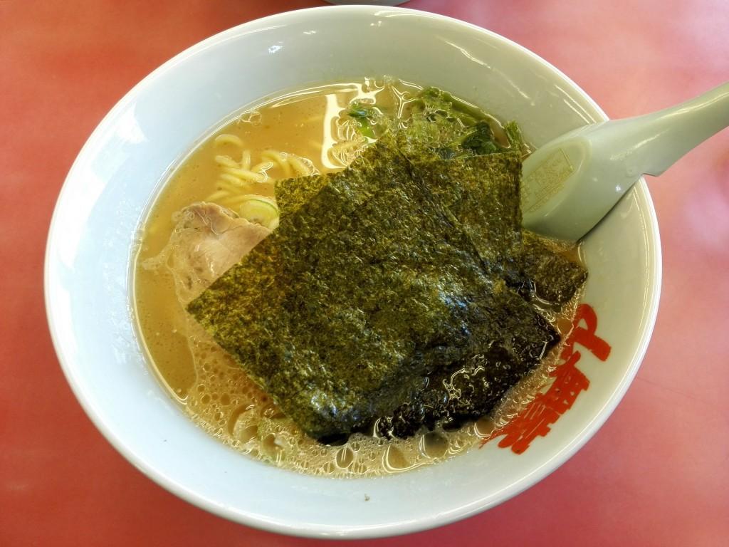 山岡家 醤油ラーメン