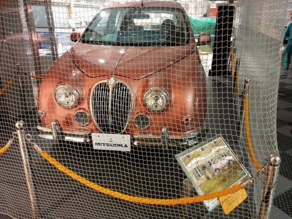 新東名 清水下りサービスエリア 光岡自動車展示
