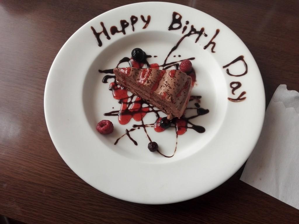 あさくま 無料誕生日ケーキ