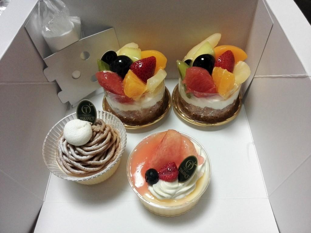 新宿高野 ケーキ
