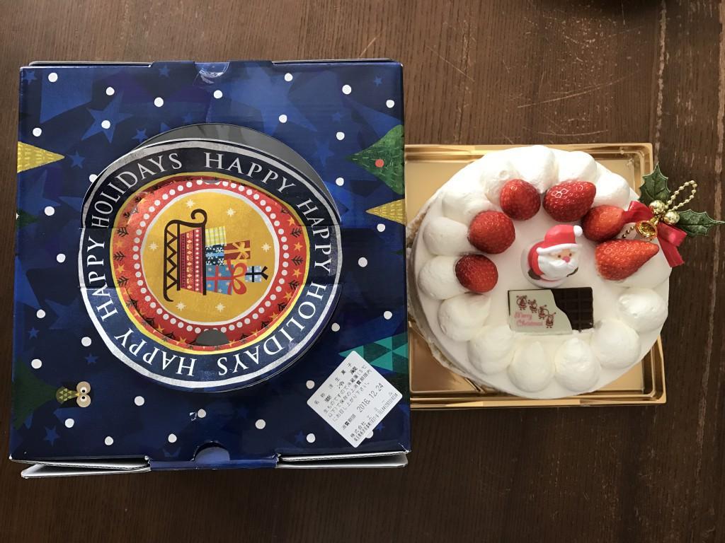 所沢 エミール クリスマスケーキ2016