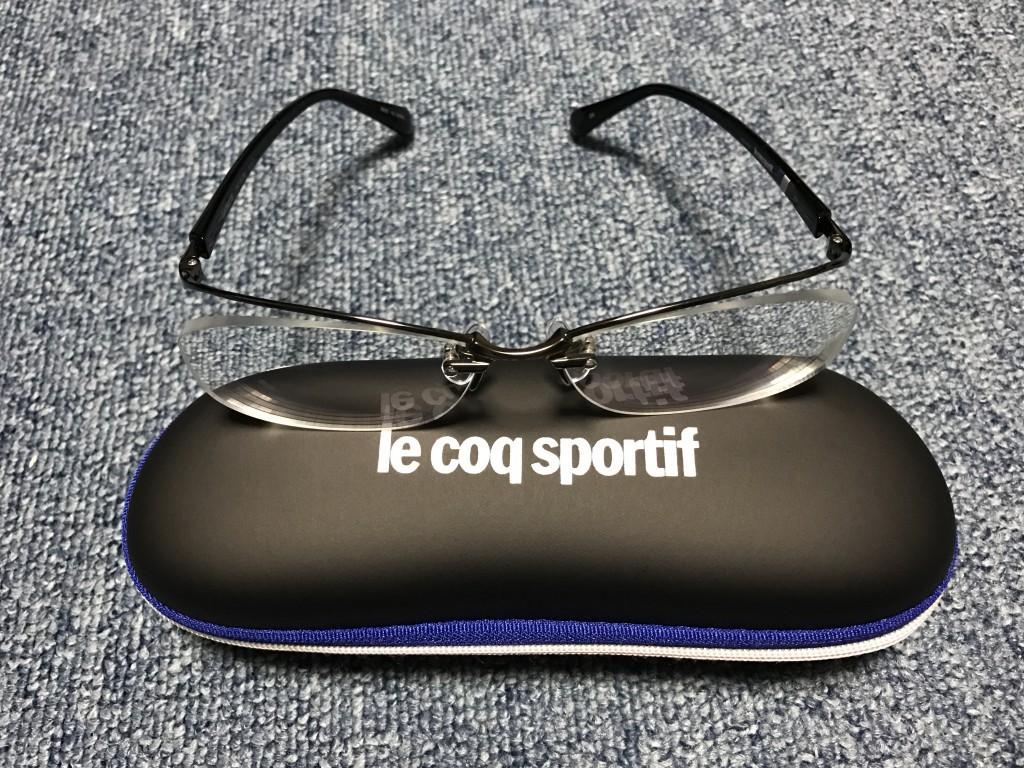 眼鏡市場 i-ATHLETE Le coq sportif コラボレーションフレーム