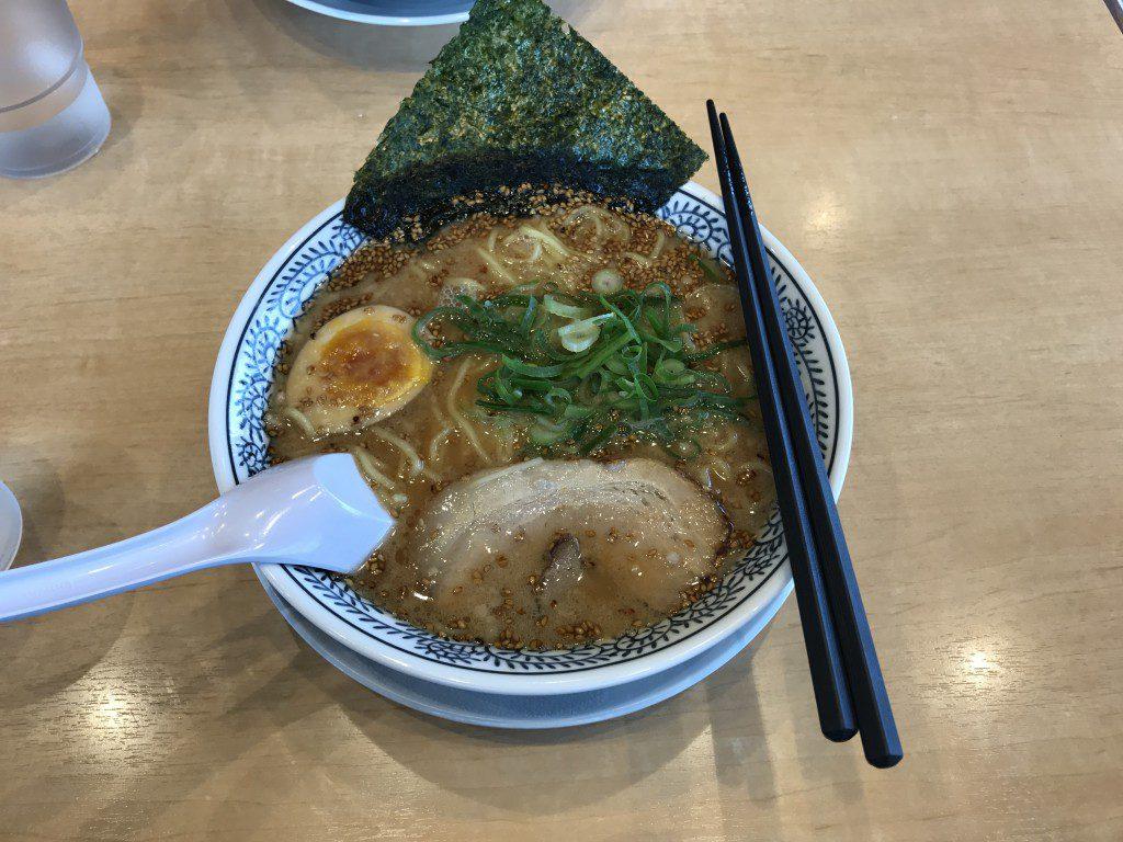 丸源ラーメン 熟成醤油ラーメン