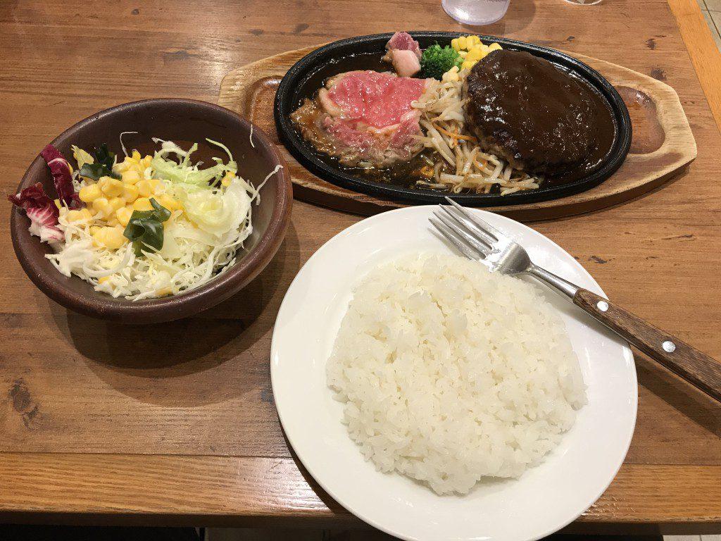 ふらんす亭 リブロースレモンステーキ&ハンバーグ