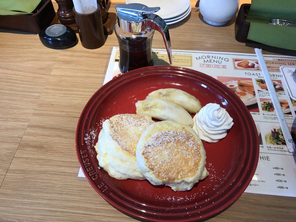 むさしの森珈琲 バナナパンケーキ