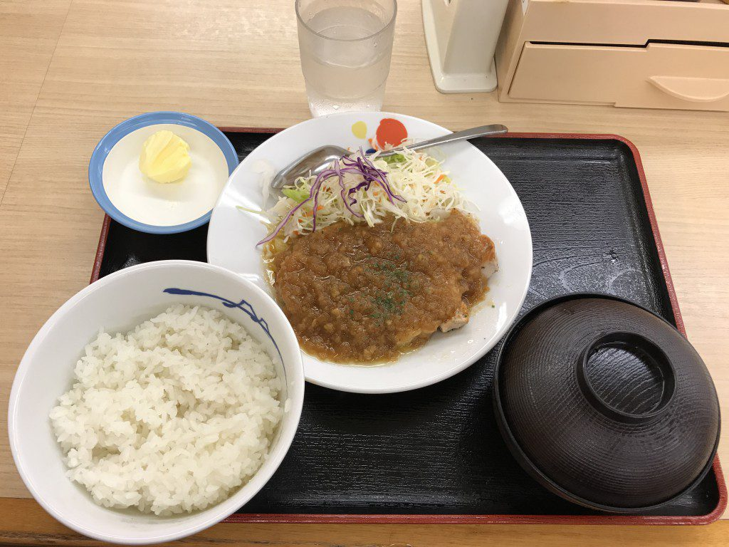 松屋 ポークソテー定食