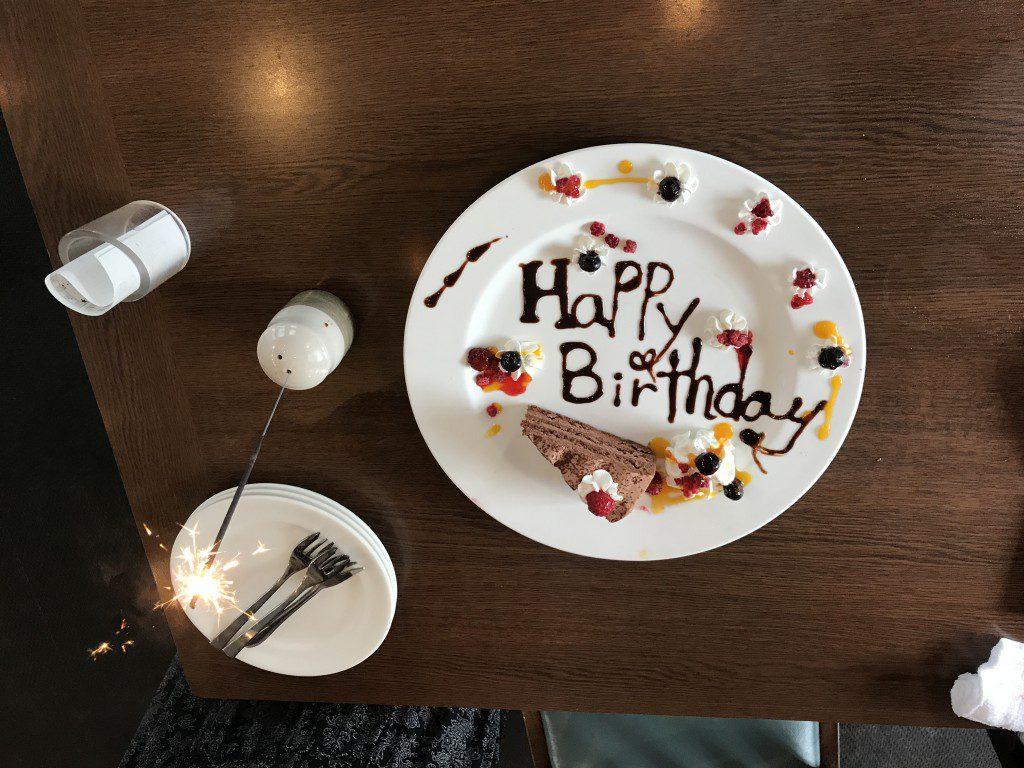あさくま 誕生日ケーキ