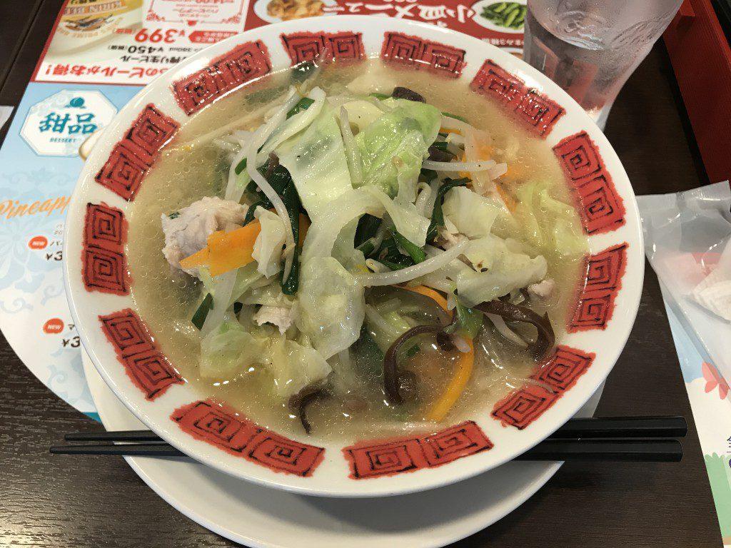 バーミヤン 国産野菜たっぷりタンメン