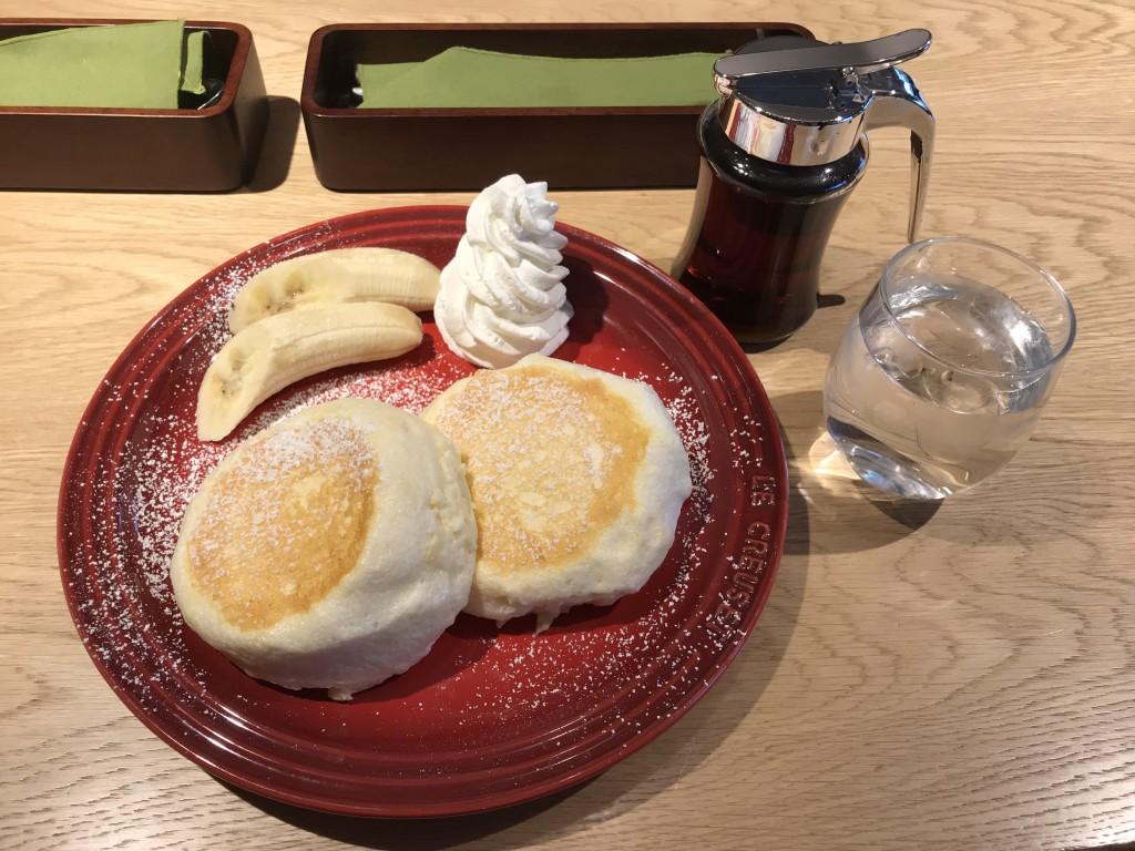 すかいらーく むさしの森珈琲 バナナパンケーキ