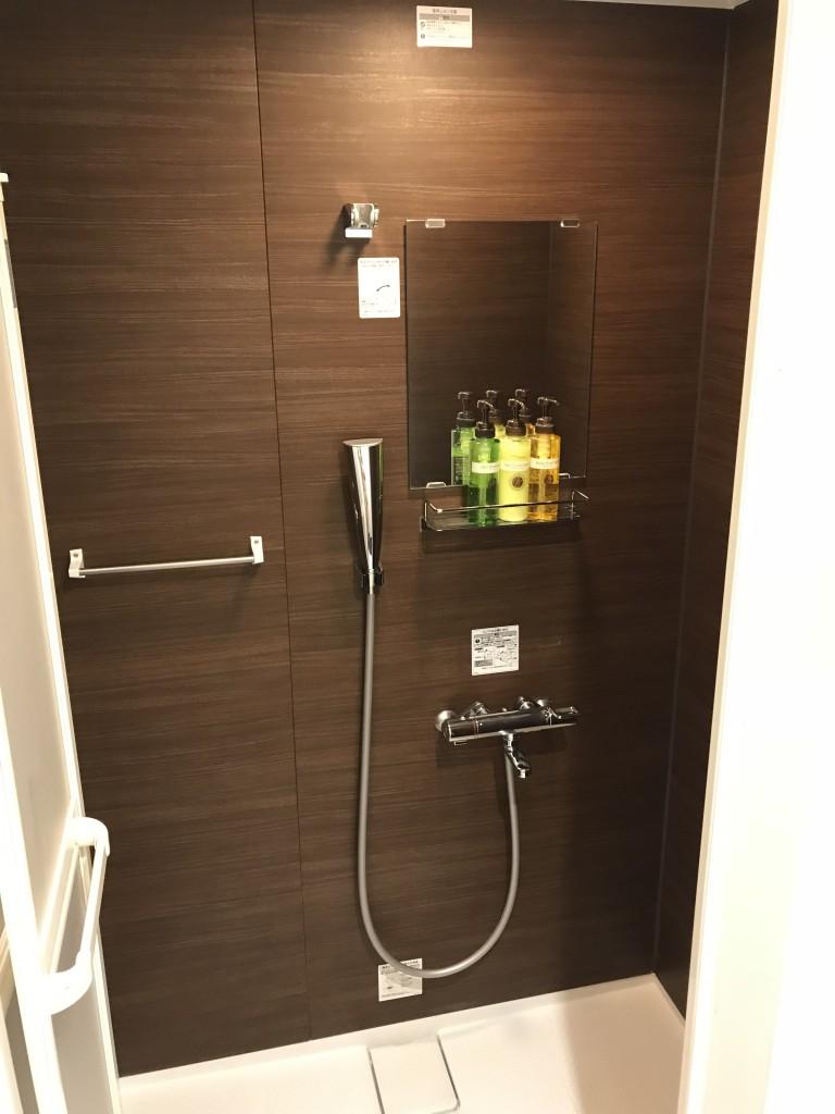 日本橋室町ベイホテル シャワールーム