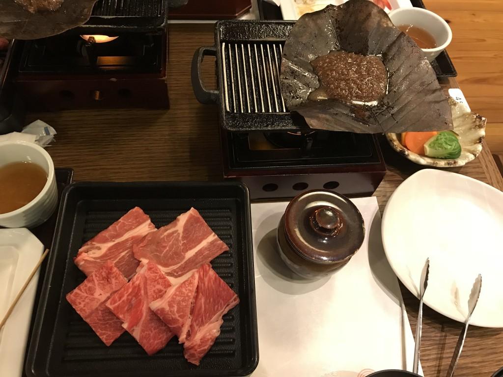 高山桜庵 夕食 飛騨牛