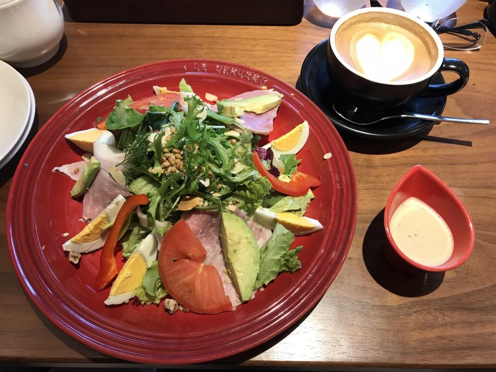 むさしの森珈琲 GOOD!モーニングサラダ
