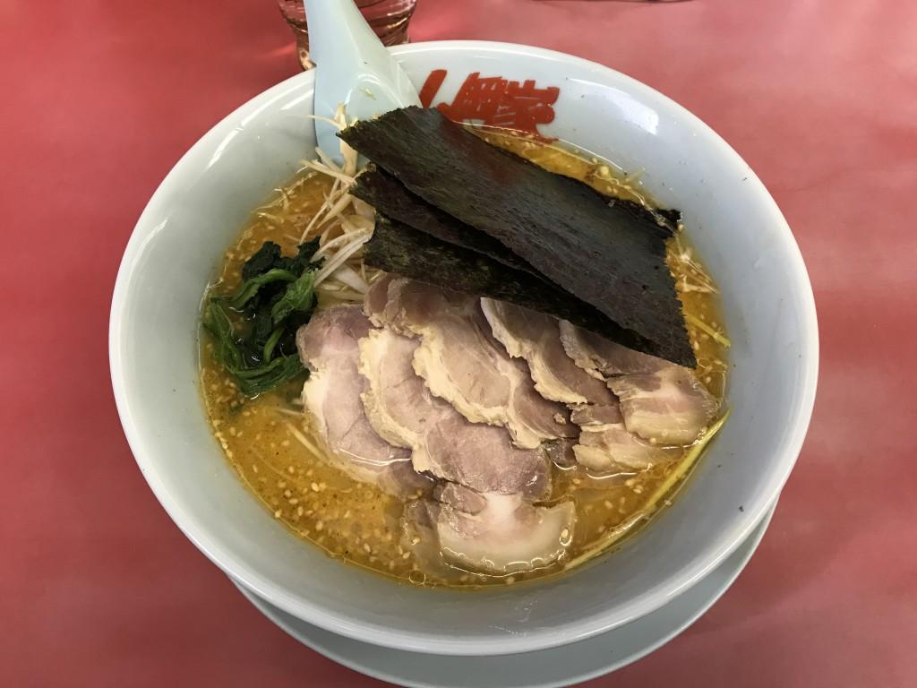 山岡家 特製味噌ネギチャーシュー麺