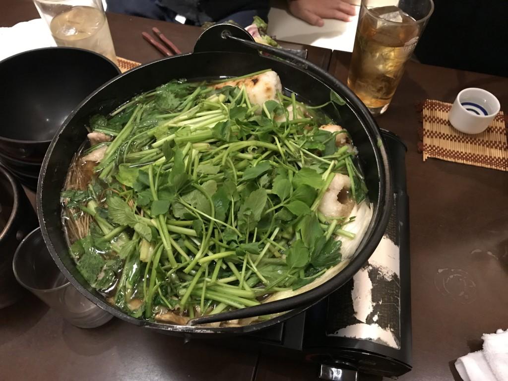 きりたんぽ鍋 秋田