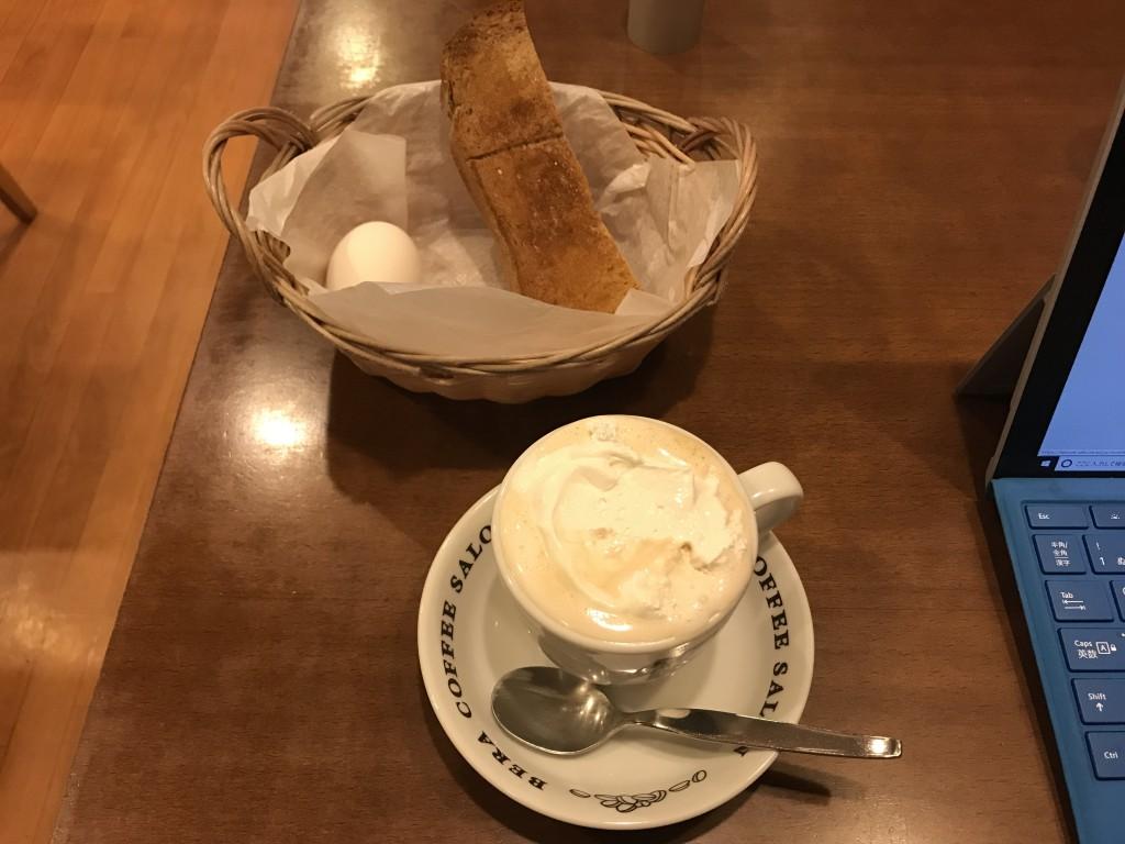 べらコーヒー ウインナーコーヒー モーニング