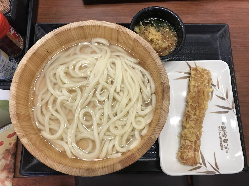 トリドールホールディングス 丸亀製麺 釜揚げうどん
