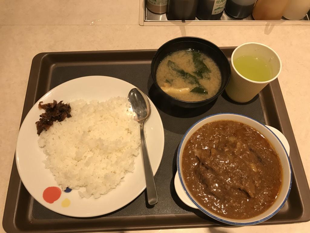 松屋 創業ハンバーグビーフカレー
