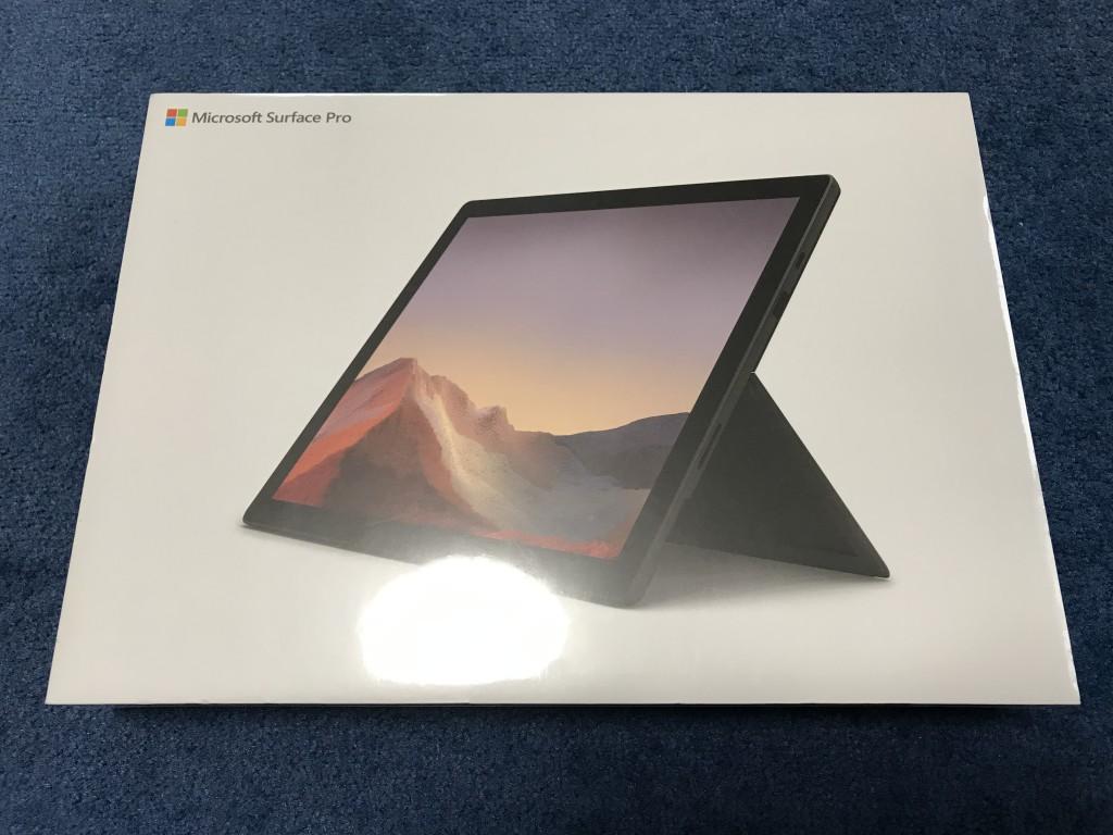 Surface Pro 7 未開封状態 表