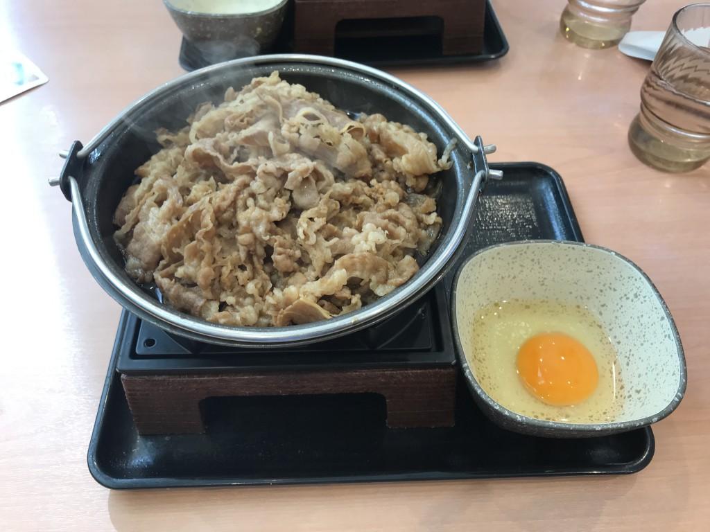 吉野家 牛鍋ファミリーパック+卵