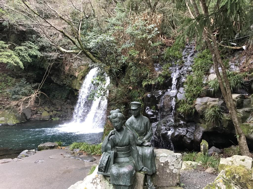 河津七滝(かわづななだる) 初景滝