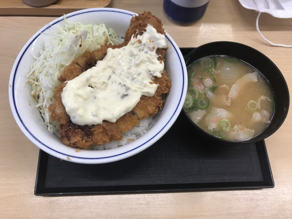 かつや ランチ タルタルカツ丼