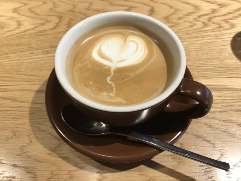 むさしの森珈琲 カフェラテ