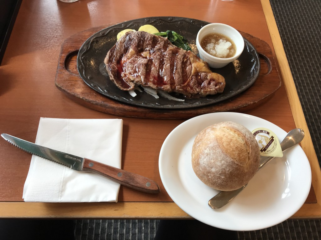デニーズ アメリカ産リブロースステーキ
