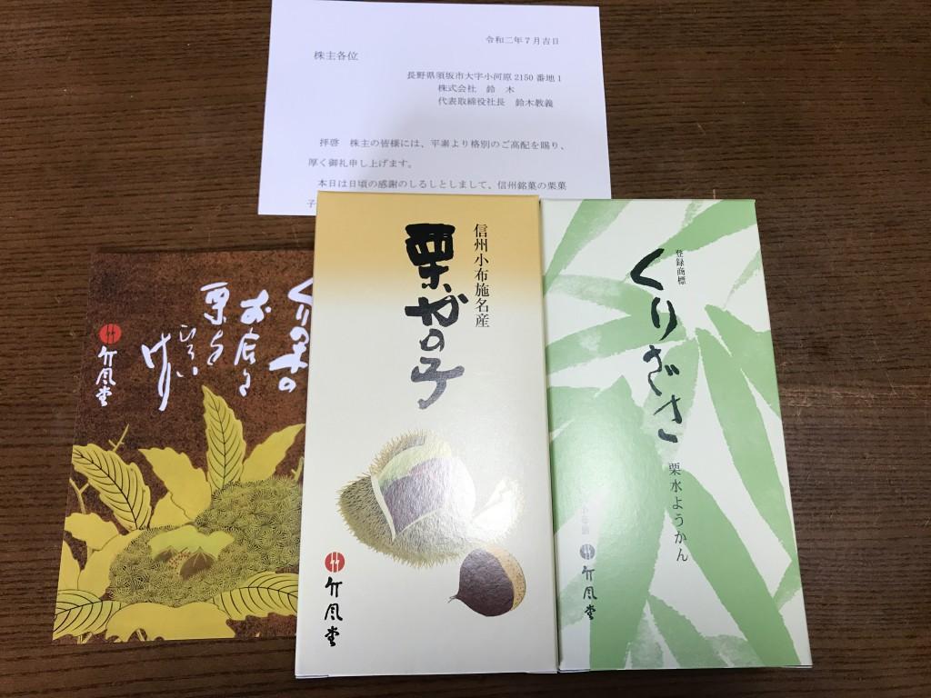 鈴木 株主優待