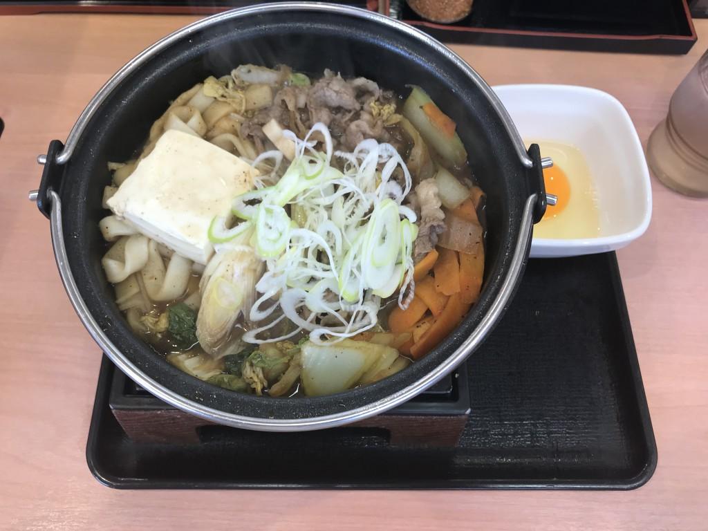 吉野家 黒毛和牛すき鍋単品